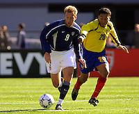 Clint Mathis, Ecuador vs USA, 2002.