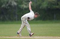 Shaun Ross of Goresbrook during Goresbrook CC (Bowling)  vs Rainham CC (Batting), T Rippon Mid Essex Cricket League Cricket at May & Baker Sports Club on 12th May 2018