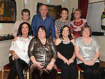 Members of the Thompson family, Caroline, Noel, Claire, Catriona, Michelle, Mary, Dolores and Kathleenat their reunion in the Pheasant. Photo:Colin Bell/pressphotos.ie
