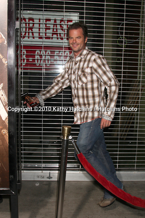 """LOS ANGELES - AUG 25:  Wally Kurth arrives at the """"Machette""""  Premiere at Orpheum Theater on August 25, 2010 in Los Angeles, CA"""