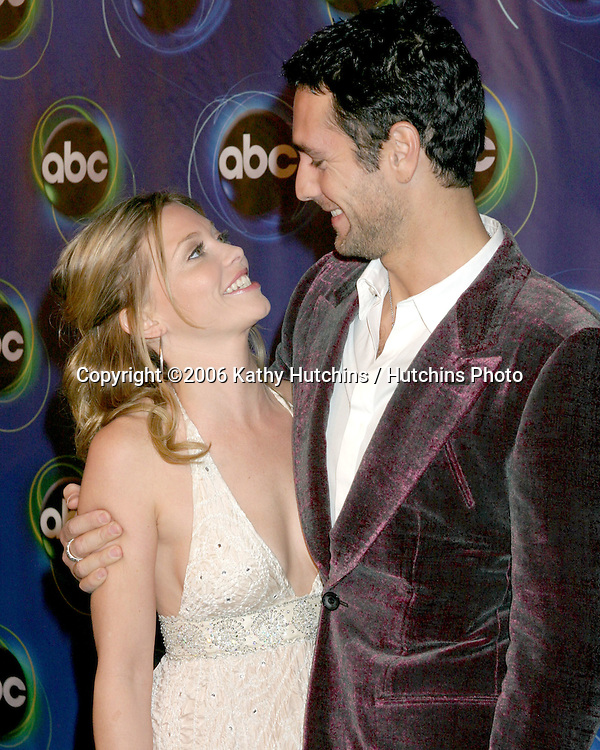 Amanda Detmer.Raul Bova.ABC TV TCA Party.The Wind Tunnel.Pasadena, CA.January 21, 2006.©2006 Kathy Hutchins / Hutchins Photo....