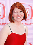 UNIVERSAL CITY, CA. - April 19: Kate Flannery arrives at the 2009 TV Land Awards at the Gibson Amphitheatre on April 19, 2009 in Universal City, California.