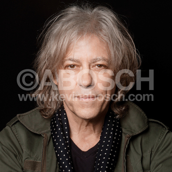 Portrait of Sir Bob Geldof photographed by Kevin Abosch