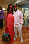 Sharene Wood and Louis Johnson Jr. of Harlem Haberdashery, attend the African Health Now - Fashion Fete event, at the Tracy Reese store on 641 Hudson Street, June 20, 2013.