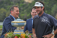 Bubba Watson (USA) is interviewed following his match during day 5 of the World Golf Championships, Dell Match Play, Austin Country Club, Austin, Texas. 3/25/2018.<br /> Picture: Golffile | Ken Murray<br /> <br /> <br /> All photo usage must carry mandatory copyright credit (&copy; Golffile | Ken Murray)