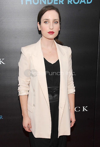 New York, NY- October 13:Zoe Lister Jones attends the Summit Entertainment and Thunder Road Pictures New York screening of John Wick at the Regal Union Square on October 13, 2014 in New York City. Credit: John Palmer/MediaPunch