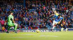 18.07.2019: Rangers v St Joseph's: Jermain Defoe scores his second goal
