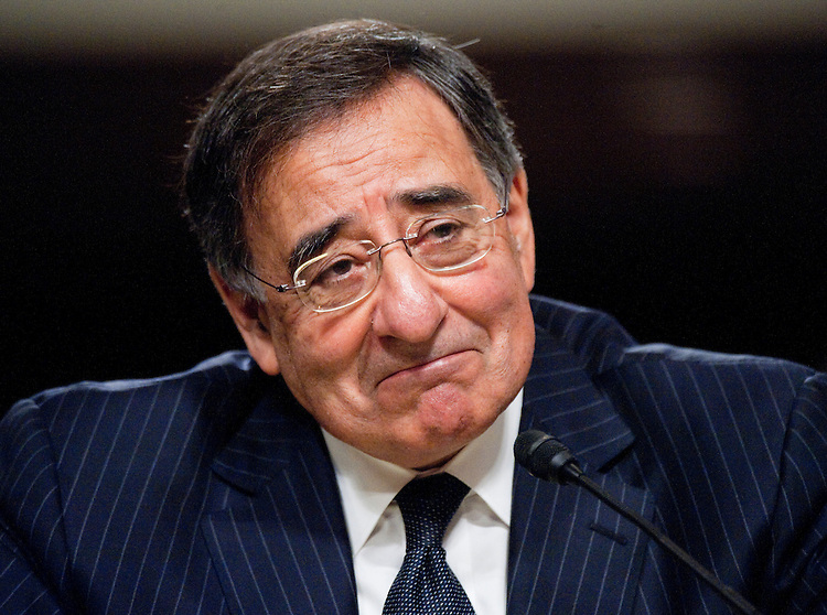 UNITED STATES - JUNE 9: CIA Director Leon Panetta testifies during his Senate Armed Services Committee confirmation hearing to become Secretary of Defense on Thursday, June 9, 2011. (Photo By Bill Clark/Roll Call)