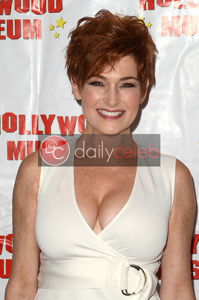 """Carolyn Hennesy at """"Child Stars - Then and Now"""" Exhibit Opening at the Hollywood Museum in Hollywood, CA on August 19, 2016. (Photo by David Edwards)"""
