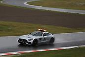 6th October 2017, Suzuka Circuit, Suzuka, Japan; Japanese Formula One Grand Prix, Friday Free Practice; Formula 1 Safety car checks the wet track
