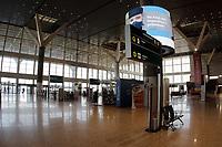 Campinas (SP), 29/07/2020 - Aeroporto/Covid-19 - O Aeroporto Internacional de Viracopos, em Campinas (SP), instalou uma Câmera Térmica que mede a temperatura de todos os passageiros que embarcam em voos no terminal. A iniciativa é mais uma entre 35 ações realizadas nos últimos meses para elevar o nível de segurança nas viagens aéreas e evitar o contágio pela Covid 19.  <br /> <br /> O painel de medição de temperatura é uma combinação de aplicações tradicionais baseadas no reconhecimento de faces e detecção de temperatura por infravermelho. A medição leva em torno de três a cinco segundos e é realizada em Viracopos quando os passageiros apresentam o bilhete de embarque.