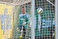 SÃO PAULO,SP, 07.08.2015 - FUTEBOL-PALMEIRAS - Fernando Prass do Palmeiras durante treinamento do Palmeiras na Academia de Futebol na Barra Funda zona oeste, nesta sexta-feira 07. (Foto: Bruno Ulivieri/Brazil Photo Press)