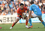 Harumichi Tatekawa (), SEPTEMBER 9, 2017 - Rugby : Japan Rugby Top League 2017-2018 match between Kubota Spears 27-19 Toyota Industries Shuttles at Prince Chichibu Memorial Stadium in Tokyo, Japan. (Photo by AFLO)