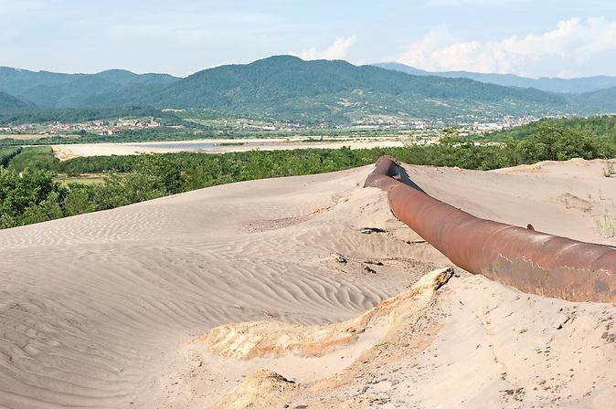 Blick vom Iazul Bozanta (Vordergrund) auf den Iazul Aurul Bozanta (hinten) / View from Iazul Bozanta (foreground) over Iazul Aurul Bozanta (background)