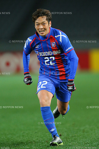 Naotake Hanyu (FC Tokyo), <br /> FEBRUARY 9, 2016 - Football / Soccer : <br /> AFC Champions League 2016 Play-off <br /> between FC Tokyo 9-0 Chonburi FC <br /> at Tokyo Stadium, Tokyo, Japan. <br /> (Photo by YUTAKA/AFLO SPORT)