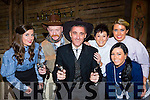 Dakota Derek: lead actor Derek O'Leary and cast from Calamity Jane at the INEC on Friday night l-r: Cait O'Sullivan, Aidan Kiely, Orlaits Mants, Sheree Murphy, Muireann Quane