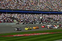 NASCAR Winston Cup Daytona 500 18 Feb.2001 Daytona International Speedway, Daytona Beach,Florida,USA .copyright©F.Peirce Williams 2001 ..F. Peirce Williams .photography.P.O.Box 455 Eaton, OH 45320.p: 317.358.7326  e: fpwp@mac.com.