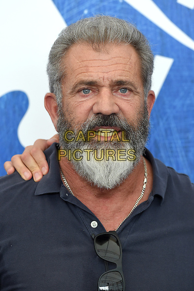 VENICE, ITALY - SEPTEMBER 4: Mel Gibson attends a photo call for Hacksaw Ridge during the 73rd Venice Film Festival on September 4, 2016 in Venice, Italy.<br /> CAP/BEL<br /> &copy;BEL/Capital Pictures