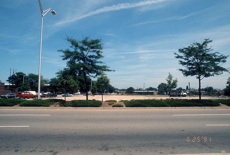 1991 June 25..Redevelopment.Church Street..CHURCH STREET CROSSING.CHURCH STREET  BETWEEN OLNEY & BRAMBLETON...NEG#.NRHA#..