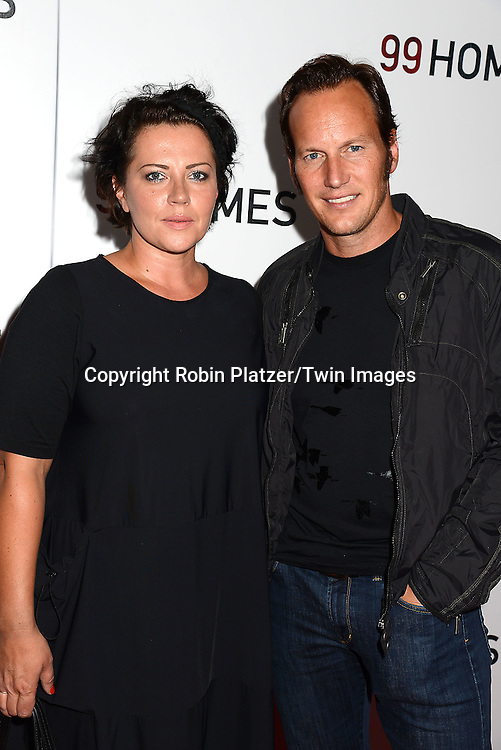 Patrick Wilson and wife Dagmara Dominczyk attend the New York Premiere of &quot;99 Homes&quot; on September 17, 2015 at AMC Loews Lincoln Square in New York City, New York, USA.<br /> <br /> photo by Robin Platzer/Twin Images<br />  <br /> phone number 212-935-0770