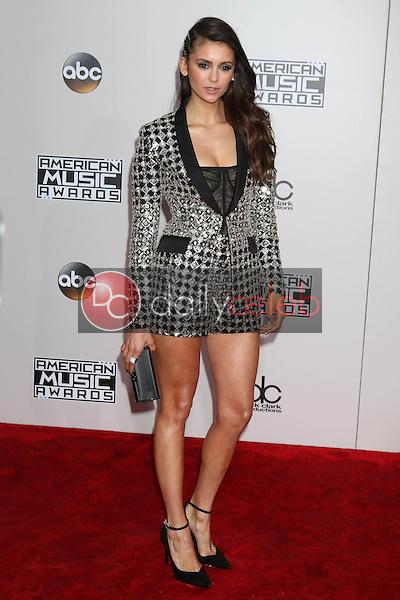 Nina Dobrev<br /> at the 2016 American Music Awards, Microsoft Theater, Los Angeles, CA 11-20-16<br /> David Edwards/DailyCeleb.com 818-249-4998