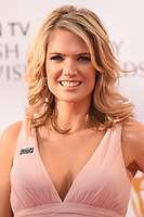 Charlotte Hawkins arriving for the BAFTA TV Awards 2018 at the Royal Festival Hall, London, UK. <br /> 13 May  2018<br /> Picture: Steve Vas/Featureflash/SilverHub 0208 004 5359 sales@silverhubmedia.com