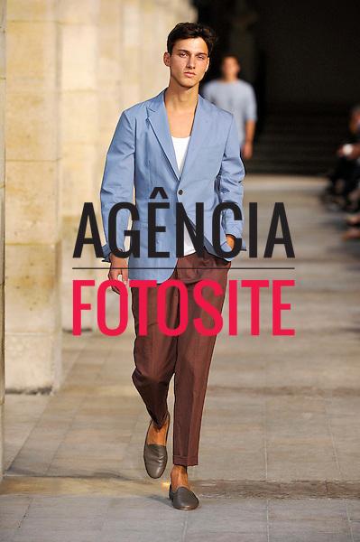 Paris, Fran&ccedil;a &ndash; 29/06/2013 - Desfile de Hermes durante a Semana de moda masculina de Paris  -  Verao 2014. <br /> Foto: Zeppelin/FOTOSITE