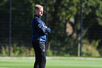 Alan Tate in action during the Swansea City Training at The Fairwood Training Ground in Swansea, Wales, UK. Wednesday 18 September 2019