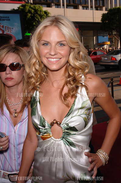 Actress NIKKI GRIFFIN at the Los Angeles premiere of her new movie The Dukes of Hazzard..July 28, 2005 Los Angeles, CA.© 2005 Paul Smith / Featureflash