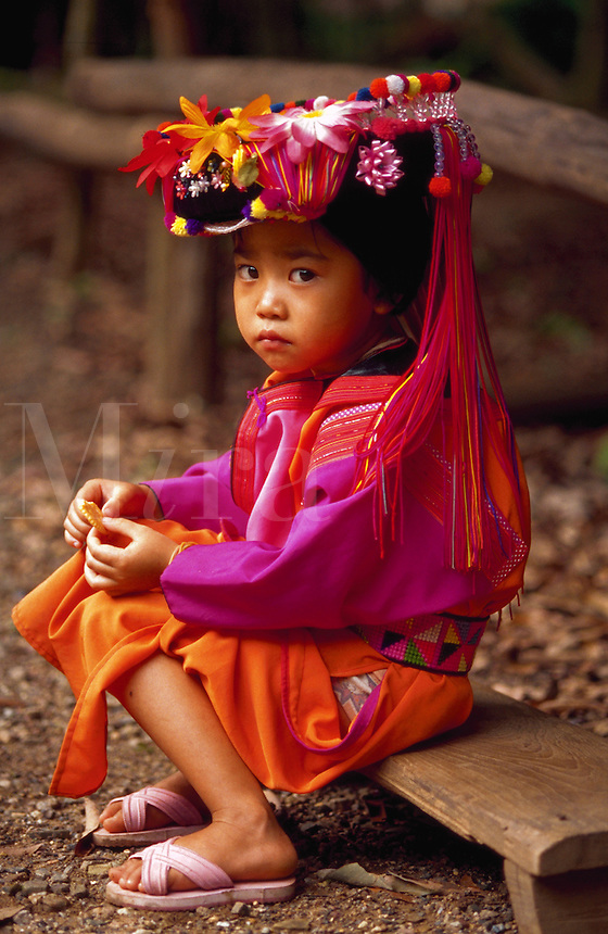 Little girl, Chaing Mai, Thailand