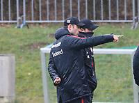 Co-Trainer Robert Kovac (Eintracht Frankfurt) und Trainer Niko Kovac (Eintracht Frankfurt) - 04.04.2018: Eintracht Frankfurt Training, Commerzbank Arena