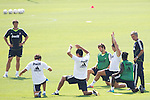 MADRID (11/08/2010).- Real Madrid training session at Valdebebas. Jose Mourinho and Cristiano Ronaldo...Photo: Cesar Cebolla / ALFAQUI