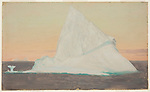 Drawing, Iceberg and Ice Flower, 1859<br />