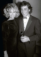 OliviaNewtonJohn and #Matt Lattanzi circa 1980's<br /> Photo By Jesse Nash/PHOTOlink