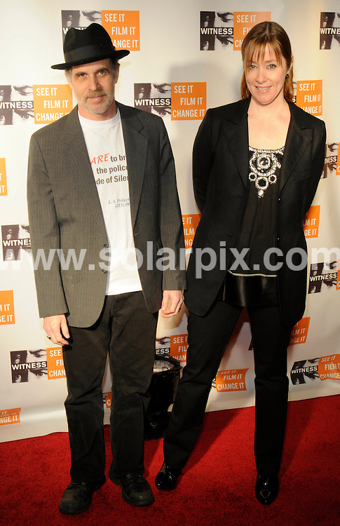 "**ALL ROUND PICTURES FROM SOLARPIX.COM**.**SYNDICATION RIGHTS FOR UK, SPAIN, PORTUGAL, AUSTRALIA, S.AFRICA & DUBAI (U.A.E) ONLY**.The musician Peter Gabriel Hosts Fourth Annual ""Focus for Change Witness"" Benefit at the Roseland Ballroom in New York City in the USA. .This pic:Paul Mills, Suzanne Vega..JOB REF:7975-PHZ/Mark Dye   DATE:20-11- 08.**MUST CREDIT SOLARPIX.COM OR DOUBLE FEE WILL BE CHARGED* *UNDER NO CIRCUMSTANCES IS THIS IMAGE TO BE REPRODUCED FOR ANY ONLINE EDITION WITHOUT PRIOR PERMISSION*"