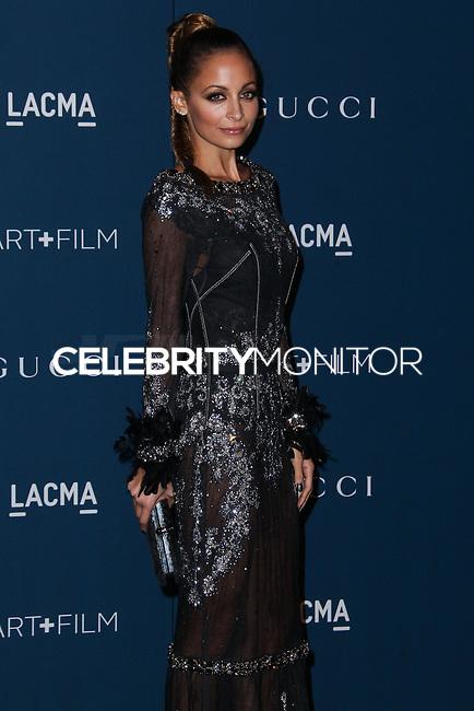LOS ANGELES, CA - NOVEMBER 02: Nicole Richie at LACMA 2013 Art + Film Gala held at LACMA on November 2, 2013 in Los Angeles, California. (Photo by Xavier Collin/Celebrity Monitor)