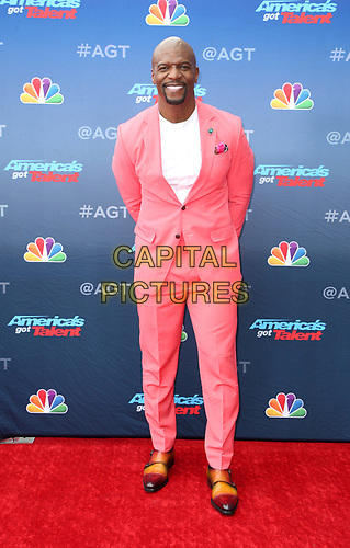 "11 March 2019 - Pasadena, California - Terry Crews. NBC's ""America's Got Talent"" Season 14 Kick-Off held at Pasadena Civic Auditorium. <br /> CAP/ADM/FS<br /> ©FS/ADM/Capital Pictures"
