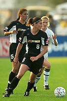 The New York Power and the Philadelphia Charge played to a 0- tie on June 11, 2003 at Mitchel Athletic Complex, Uniondale, NY.