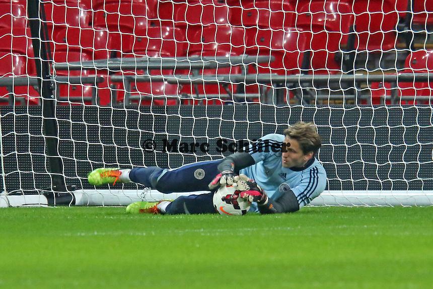 Rene Adler (D) - Abschlusstraining der Nationalmannschaft im Wembley Stadium