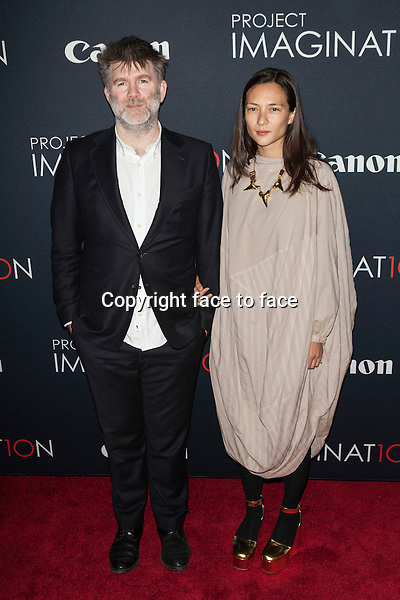 NEW YORK, NY - OCTOBER 24, 2013: James Murphy and Christina Topsoe attend the Premiere Of Canon's Project Imaginat10n Film Festival at Alice Tully Hall on October 24, 2013 in New York City. <br /> Credit: MediaPunch/face to face<br /> - Germany, Austria, Switzerland, Eastern Europe, Australia, UK, USA, Taiwan, Singapore, China, Malaysia, Thailand, Sweden, Estonia, Latvia and Lithuania rights only -
