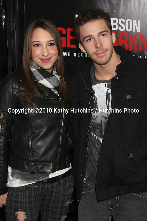 "Ashley Edner & Bobby Edner.arriving at the premiere of the ""Edge of Darkness"".Grauman's Chinese Theater.Los Angeles, CA.January 26, 2010.©2010 Kathy Hutchins / Hutchins Photo...."