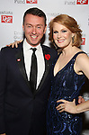 Andrew Lippa and Kate Baldwin attends the Dramatists Guild Fund Gala 'Great Writers Thank Their Lucky Stars : The Presidential Edition' at Gotham Hall on November 7, 2016 in New York City.
