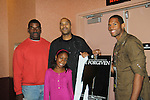 Lawrence's dad Jose, cast members xx & Taylor McIntyre and Guiding Light's Lawrence Saint-Victor presented the independent short film The Forgiven in its World Premiere on September 17, and 18, 2010 at the 14th Annual Urban World Film Festival presented by BET Networks at the AMC Theatres 34th Street, New York City, New York. (Photo by Sue Coflin/Max Photos)