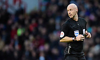 Referee Anthony Taylor<br /> <br /> Photographer Chris Vaughan/CameraSport<br /> <br /> The EFL Sky Bet Championship - Sheffield United v Blackburn Rovers - Saturday 29th December 2018 - Bramall Lane - Sheffield<br /> <br /> World Copyright © 2018 CameraSport. All rights reserved. 43 Linden Ave. Countesthorpe. Leicester. England. LE8 5PG - Tel: +44 (0) 116 277 4147 - admin@camerasport.com - www.camerasport.com