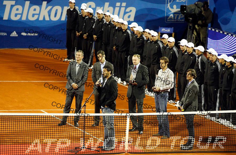 Sport Tenis Tennis Atp Serbia Open 2009 Beograd Srbija 2-10.may 2009. (credit image © photo: Pedja Milosavljevic / STARSPORT) Ova fotografija je zasticena zakonom o autorskom pravu. Nije dozvoljena upotreba ove fotografije u bilo koje marketinske, propagandne, komercijalne, nekomercijalne, humanitarne, reklamne itd svrhe, bez pismenog odobrenja autora. © 2009 Pedja Milosavljevic / +318 64 1260 959 / thepedja@gmail.com