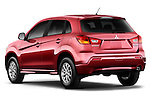 Rear driver side view of a 2011 Mitsubishi Outlander Sport ES