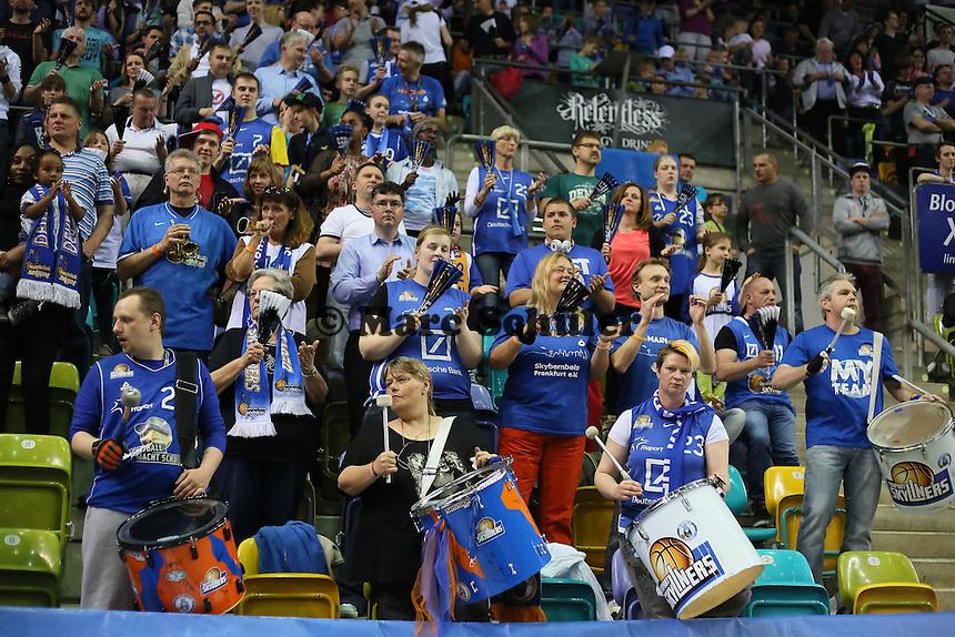 Fans der Skyliners - Fraport Skyliners vs. medi Bayreuth, Fraport Arena Frankfurt