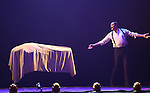 Rick Thomas, The Immortal from 'The Illusionists' during a press preview of 'The Illusionists - Turn of the Century' at The Theater Center on November 29, 2016 in New York City.