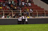 SÃO PAULO,SP - 12.02.2017 - ITUANO-PALMEIRAS - Gol do Ituano, durante partida válida pela segunda rodada do Campeonato Paulista 2017, no Estádio Novelli Junior, em Itu, interior do estado de São Paulo, na noite deste domingo,12.(Foto: Eduardo Carmim/Brazil Photo Press)