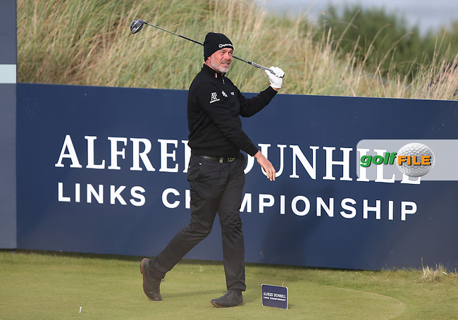 Darren Clarke (NIR) during R3 at Kingsbarns of the 2014 Alfred Dunhill Links Championship, The Old Course, St Andrews, Fife, Scotland. Picture:  David Lloyd / www.golffile.ie